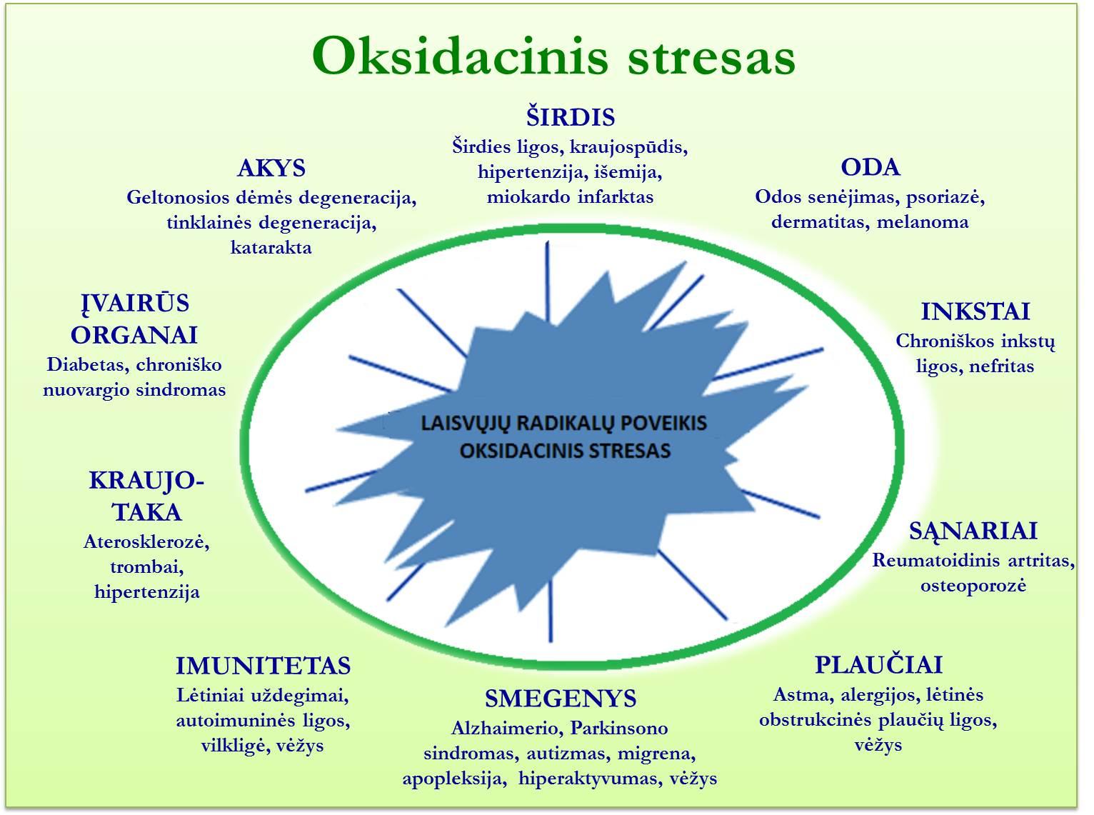 Oksidacinis stresas